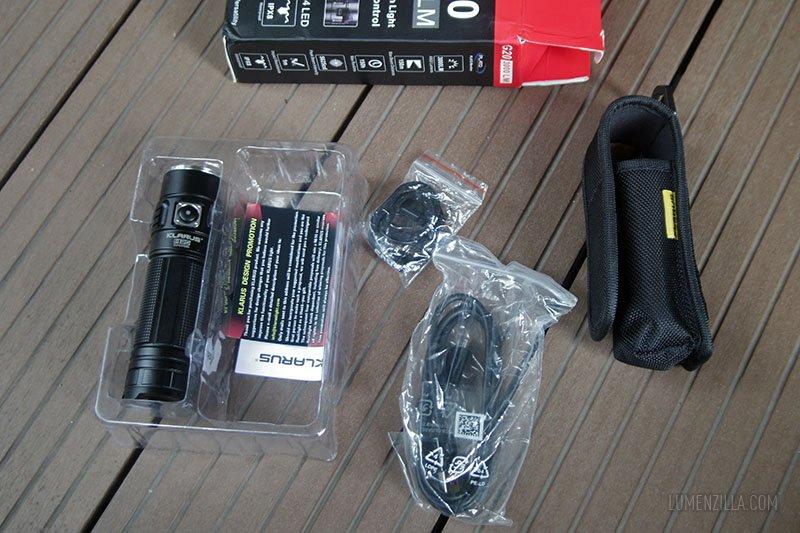 klarus g20 package contents