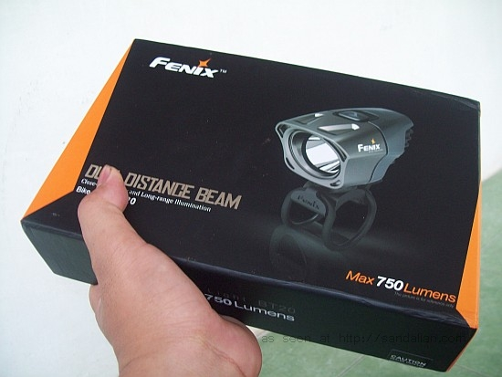 Fenix BT20 in a box