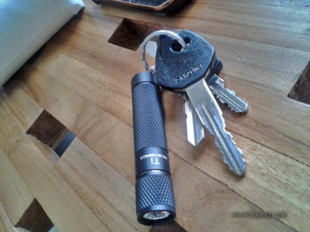 Thrunite Ti as Keychain