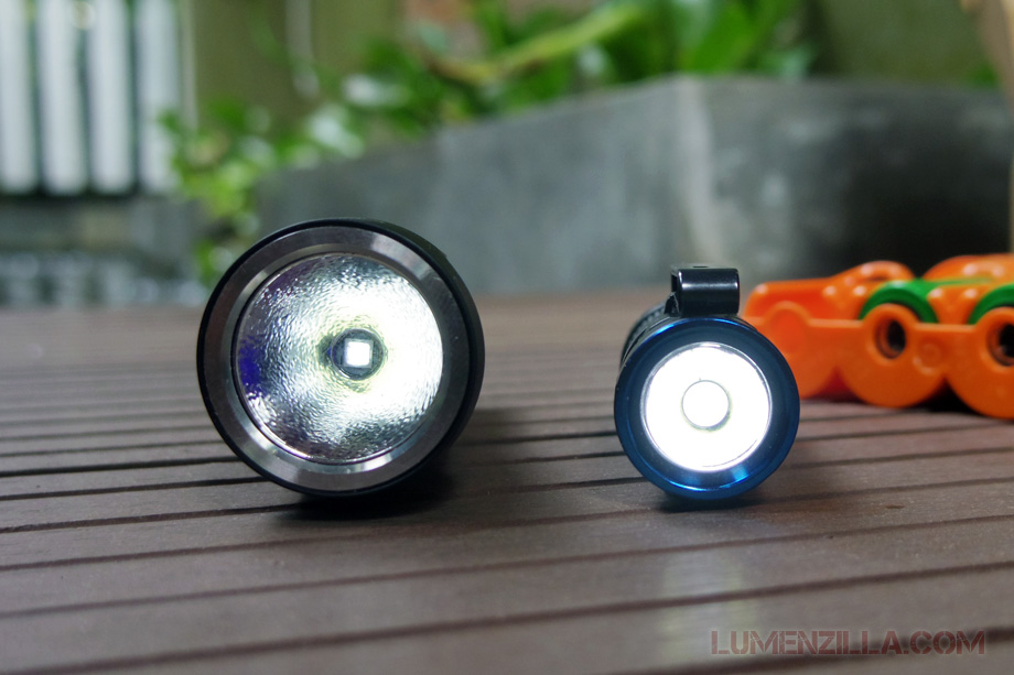 manker quinlan u11 flashlight moonlight firefly mode comparison with olight s1 baton