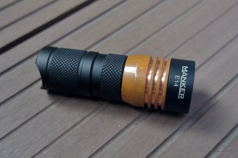 04 manker e14  nichia flashlight
