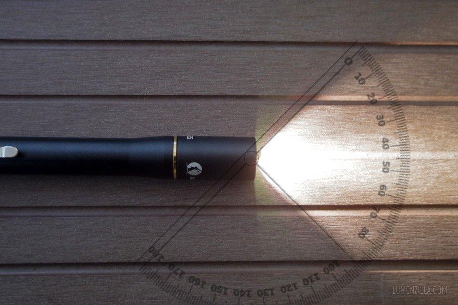 12 lumintop iyp365 beam spill