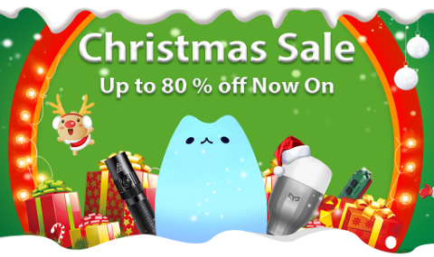 Christmas Flashlight Sale 2016