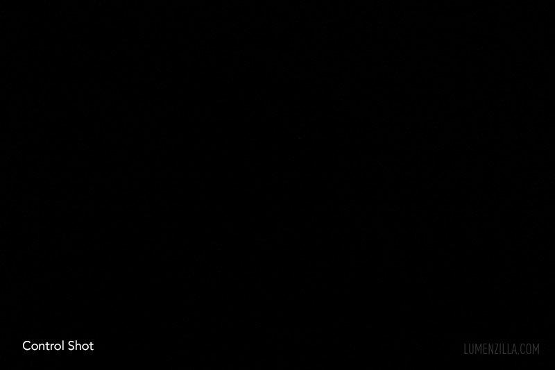 Fenix UC01 beamshots at 4-5 meters distance control shot