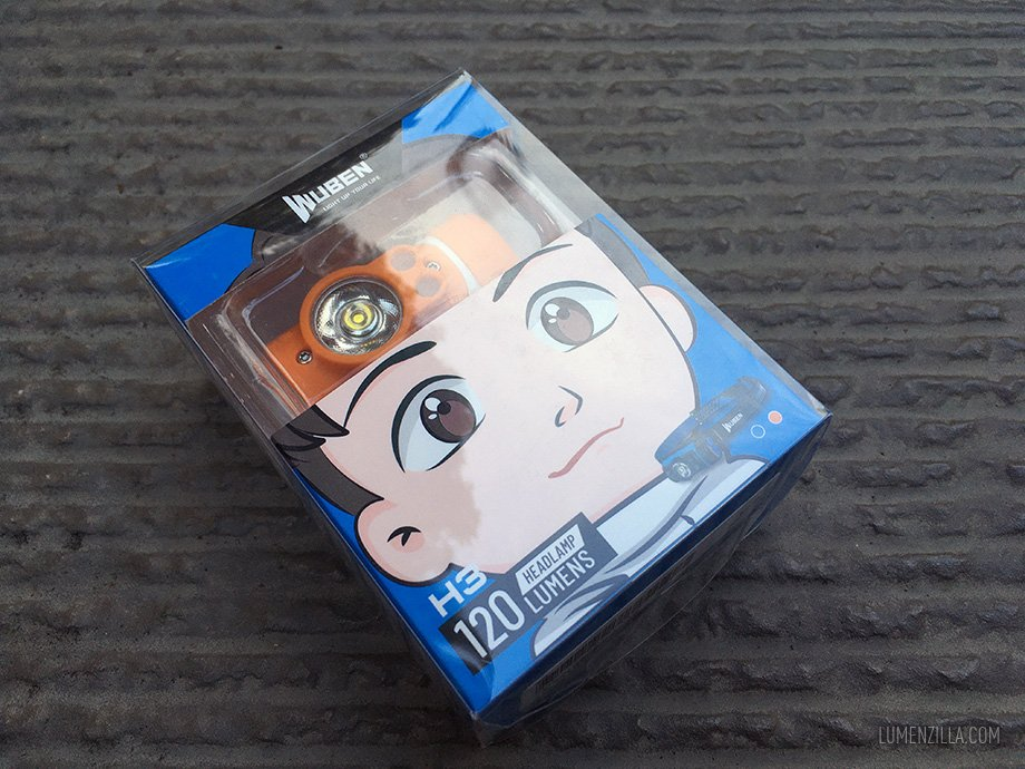 Wuben H3 in a box